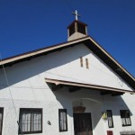 1949年6月に建てられた教会堂