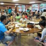 錦秋湖の食事は最高です!