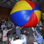 東北ファミリーフェスタ 巨大ボール出現! 150921
